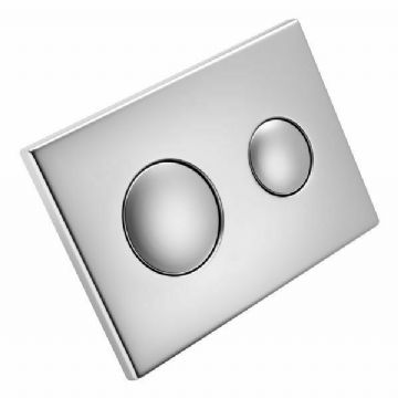 Ideal Standard / Armitage Shanks S4399BX Conceala dual flush plate satin nickel